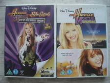 HANNAH MONTANA MOVIE + BEST OF BOTH WORLDS CONCERT ( DVD WALT DISNEY MILEY CYRUS