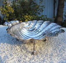 Superb Sterling Silver Shell Dish - Hallmark - Very Fine Detail -David Hollander