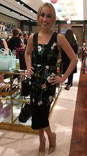 "TED BAKER ""SECRET Trellis"" Ajustée Soirée Floral Robe Moulante Taille 5 UK 16"
