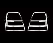 Chrome Tail Light Lamp Cover 2pcs For 2007 2009 Kia Sorento