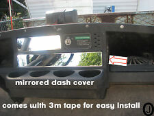 Ezgo Golf Cart ++Highly Polished++ Mirrored STAINLESS STEEL Dash Cover