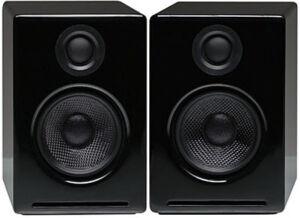 Audioengine A2+ Active Speakers PAIR - WHITE Bluetooth Computer PC Wireless USB