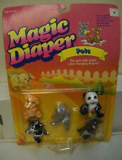 #7463** NRFC Vintage Galoob Magic Diaper Babies Pets