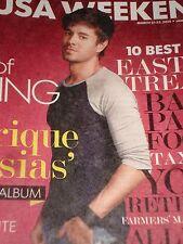 Enrique Iglesias Usa Weekend March 2014 New Album, New Tour