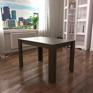 Medina 4 Seater Dining Table MDF Wood Rectangle Modern Kitchen