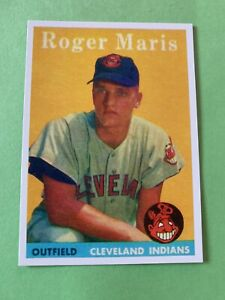 1958 Topps #47 Roger Maris RC *Reprint* New York Yankees