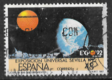 1987 issue  for 1992 expo Spanish stamp - astronomy theme v 48 - see scan