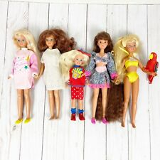 Lot Of 5 Skipper & Stacie Dolls Totally Hair Skipper Clothes Tahiti Shoes