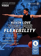Athletic Yoga: Yoga for Flexibility with Kevin Love (DVD, 2015)