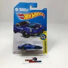 Nissan Fairlady Z #184 * BLUE * 2016 Hot Wheels * ZC30