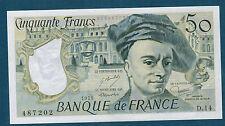FRANCE - 50 FRANCS QUENTIN DE LA TOUR Fayette n°67.4 de 1979 en NEUF D.14 487202