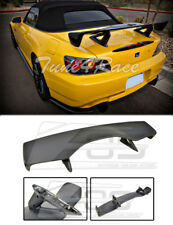 For 00-09 Honda S2000 ABS Plastic BLACK Rear Trunk Lid Wing Spoiler CR Style New