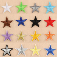 10pcs Star Design Embroidery Sew Iron On Patches DIY Badge Bag Clothing Applique
