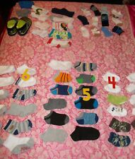 BABY SOCKS - from Infant, Newborn, to Toddler Ages 1 - 2 12 months