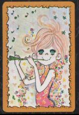 Swap Playing Cards 1 Japanese Nintendo 70's Ado Mizumori  Girl A316