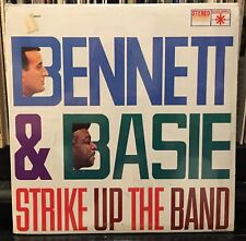 sealed Tony BENNET & BASIE Count STRIKE UP THE BAND 1959 Roulette SR 25231