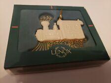 Lenox Gold Train Ornament Brand New in Original Box