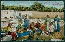 Palermo Costumi Siciliani cartolina QQ0861
