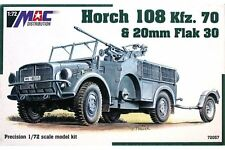 MAC DISTRIBUTION 72057 1/72 Horch 108 Kfz. 70 & 20mm Flak 30