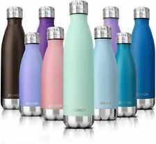 Gourde INOX en Acier Inoxydable Reutilisable sans BPA 350ml/500ml/650ml Isolée