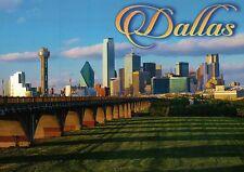 Dallas Texas Skyline, Reunion & Renaissance Tower, Fountain Place etc - Postcard