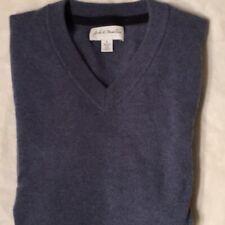 John Nordstom V-neck 2-ply Cashmere Sweater (S)
