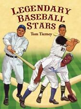 Legendary Baseball Stars Paper Dolls (Dover Paper Dolls) by Tom Tierney