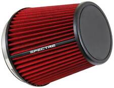 """SPECTRE HPR9892 Performance Cold Air Intake Red Filter 6"""" Clamp On"""