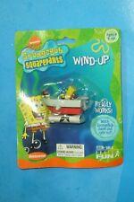 SpongeBob SquarePants Wind Up Toy Boat Basic Fun Inc. 2002 New