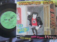 Sex Pistols Something Else Virgin Records VS 240 UK 7inch Vinyl Single