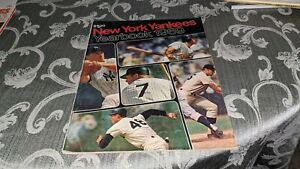 1969 New York Yankees Baseball Yearbook Mickey Mantle