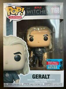Funko Pop Witcher 1168 Geralt NYCC EXCLUSIVE IN HAND