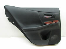 2010 Lexus HS250h Door Trim Panel Rear Left Side OEM 10 11 12