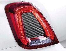 Abarth Fiat 500 595 695 Modanatura Fibra di Carbonio Cover Centrale Carbon Fiber
