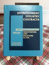 Entertainment Industry Contracts ~ Volume 1 ~ Motion Pictures Book ONLY