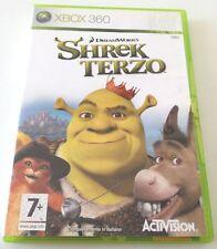 SHREK TERZO GIOCO XBOX 360 ITALIANO BUONO SPED GRATIS SU + ACQUISTI
