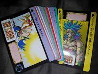 DRAGON BALL Z DBZ SUPER BATTLE POWER PART CARD CARTE 609 MADE JAPAN 1995 NM