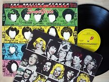 Rolling Stones Some Girls + Inner Banned UK LP CUN 39108 1978 EX/EX