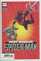 MILES MORALES SPIDER-MAN #2 (3rd PRINT) GARRON VARIANT Marvel 2019 NM- NM