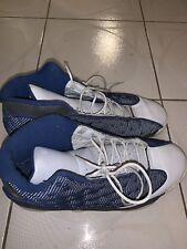 *BEATERS* 2005 Air Jordan 13 Retro 'Flint' Grey French Blue