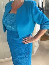 Condici mother of the bride outfit Teal 16 to 18 uk