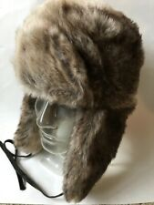 STETSON NEW Faux fur bomber hat $60 retail