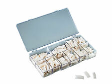 Nagel Tips French Weiss 250 Kunstnägel Box Nägel Set künstliche Fingernägel
