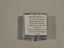 Accucell - 1 Batería Bulova Accutron Para Calibre 214, 218, 219, 224, 230,2210,2310