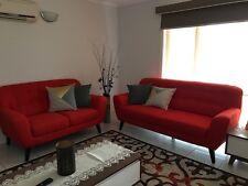 Super Amart Sofa Pair, Brand New