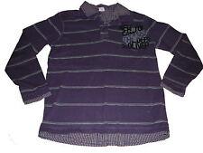s. Oliver tolles Hemden Shirt Gr. 152 lila-grau !!