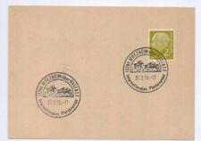 1958 Postal Cover / Postcard Horse Racing at Iffezheim / Baden-Baden Racecourse