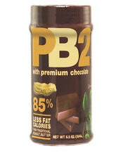 PB2 - Chocolate Powdered Peanut Butter PPB - 6.5oz (184g) - LOW FAT HEALTHY