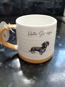 Dachshund Mug Dog Cup Animal Sausage