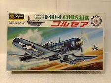 Fujimi Chance Vought F4U-4 Corsair Airplane Model Kit #A9-100 1:70 Scale md138